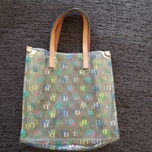 Dooney & Bourke clear Tote bag